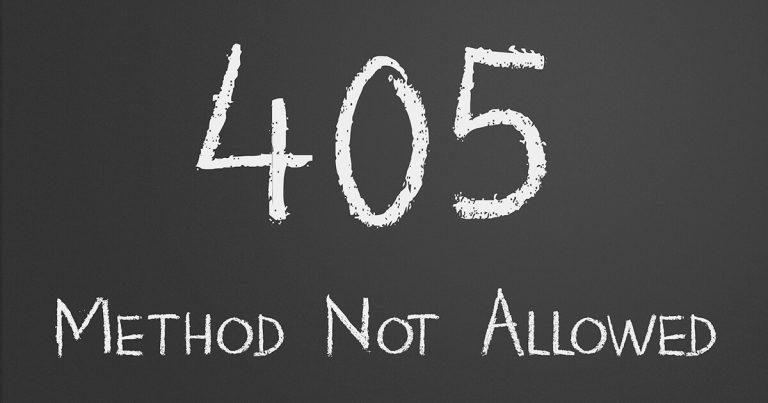 Ошибка 405 или 500 в HTTP сервисе 1С